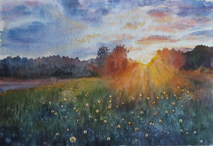 Наталия Задворнова – Одуванчиковый закат