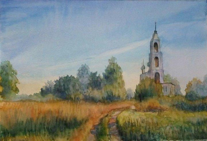 Старенькая церквушка
