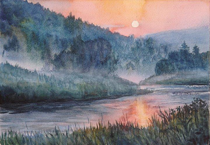 Наталия Задворнова – Туман над рекой