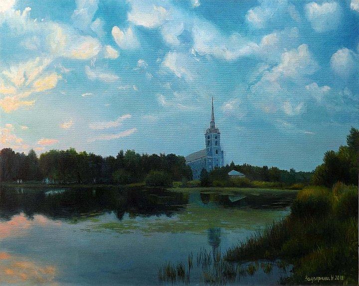 Наталия Задворнова – Вечер в старом парке