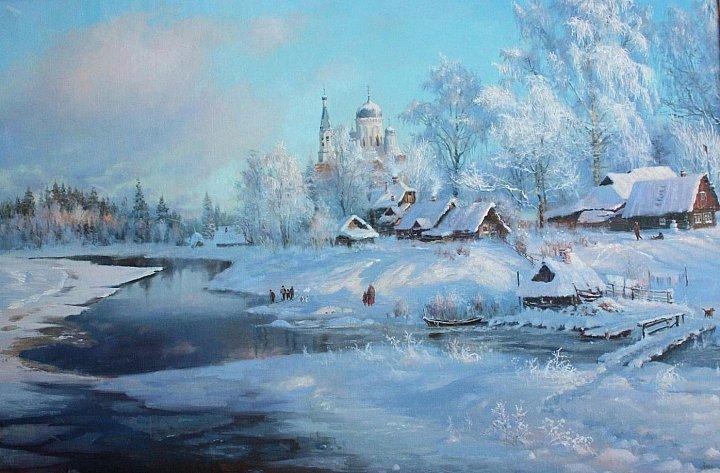 Русский талант художник владимир